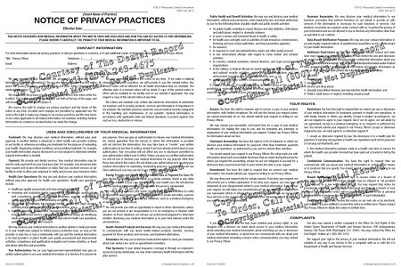 Electronic HIPAA Notice of Privacy Practices | The Dental Record