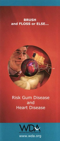 Gum Disease and Heart Disease Brochures - 25/pack -