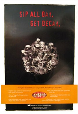 Sip All Day Get Decay Poster