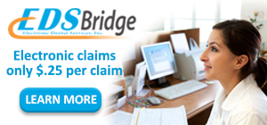 electronic claims only $.25 per claim