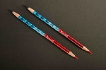 Red and Blue Pencils - 2 Dozen