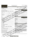 Electronic Registration Form in PDF Format (1 Year - $49.95)