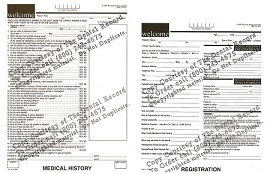 1 Year PDF Forms for website use: Includes: Registration, Dental HX, Medical HX, Child DMX, and HIPAA Notice